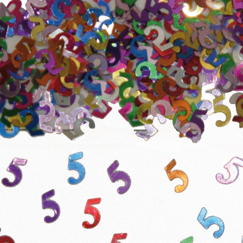 Sier-Confetti Multicolor 5 15gram
