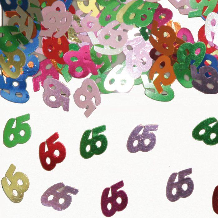 Sier-Confetti Multicolor 65 15gram