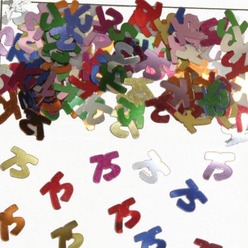 Sier-Confetti Multicolor 75 15gram
