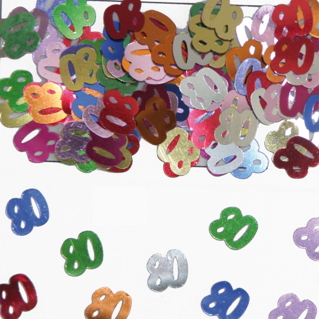 Sier-Confetti Multicolor 80 15gram