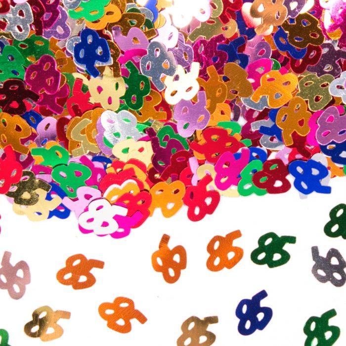 Sier-Confetti Multicolor 85 15gram
