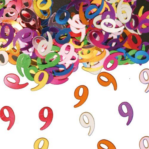 Sier-Confetti Multicolor 9 15gram