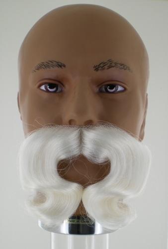 Sint Snor Synthetisch Krul