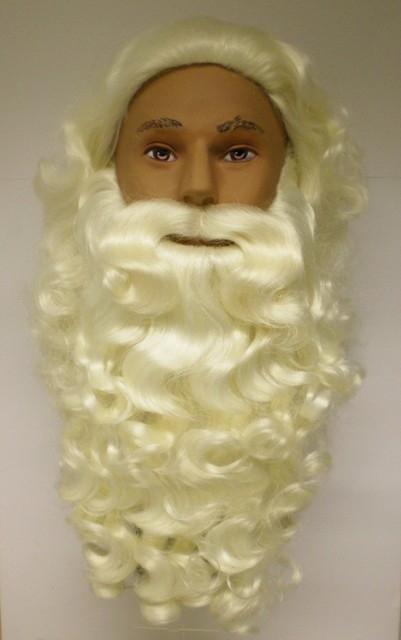 Sinterklaas Baardstel Synth Losse Snor