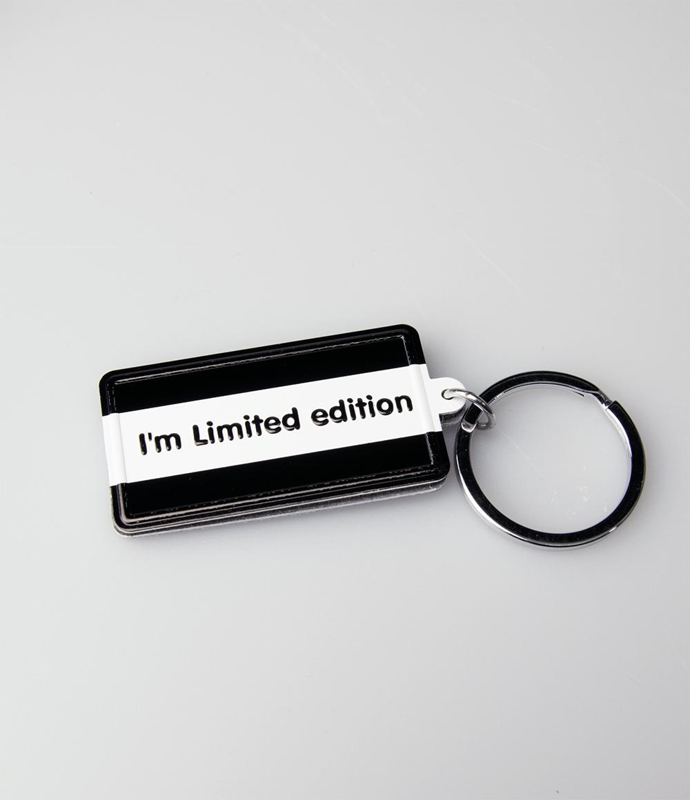 "Sleutelhanger Black&White ""I'm Limited Edition"""