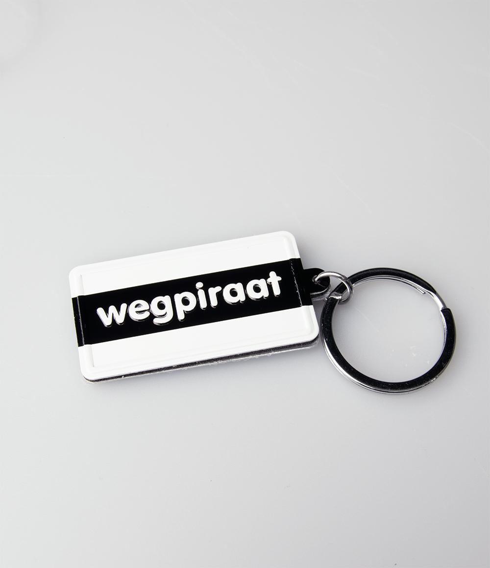 """Sleutelhanger Black&White """"Wegpiraat"""""""