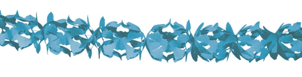 6m Slinger Papier Hoku Blauw