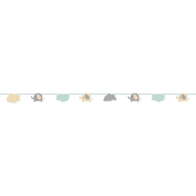 2.3m Slinger Papier Olifant Baby Algemeen