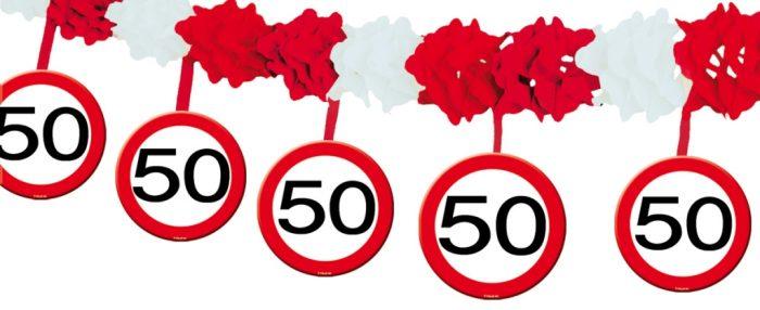 Slinger/Onderh. Verkeersbord 50 jaar