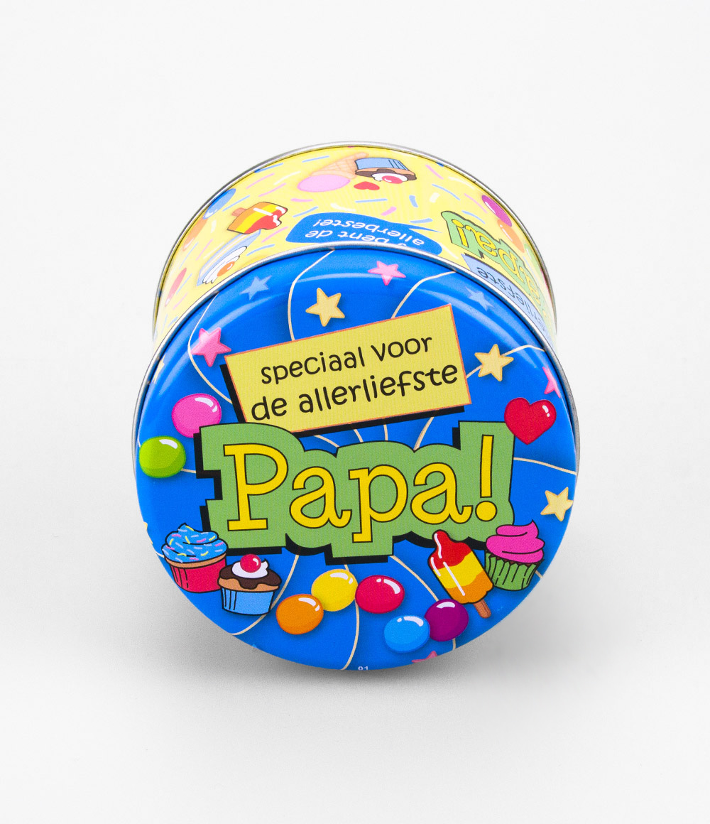 Snoepblikje Allerliefste Papa