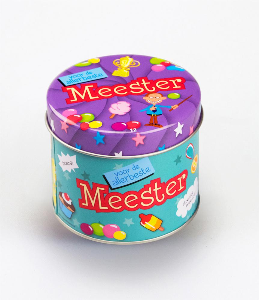 Snoepblikje Meester