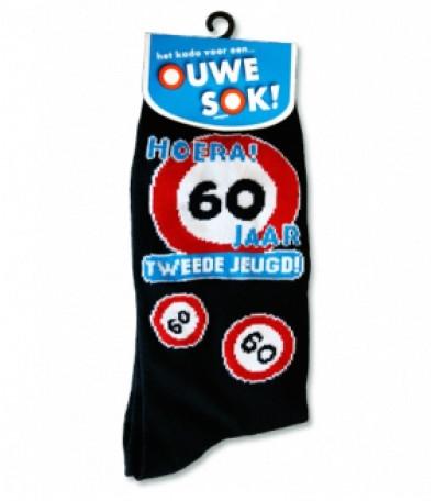 Sokken 09-Verkeersbord 60 jaar