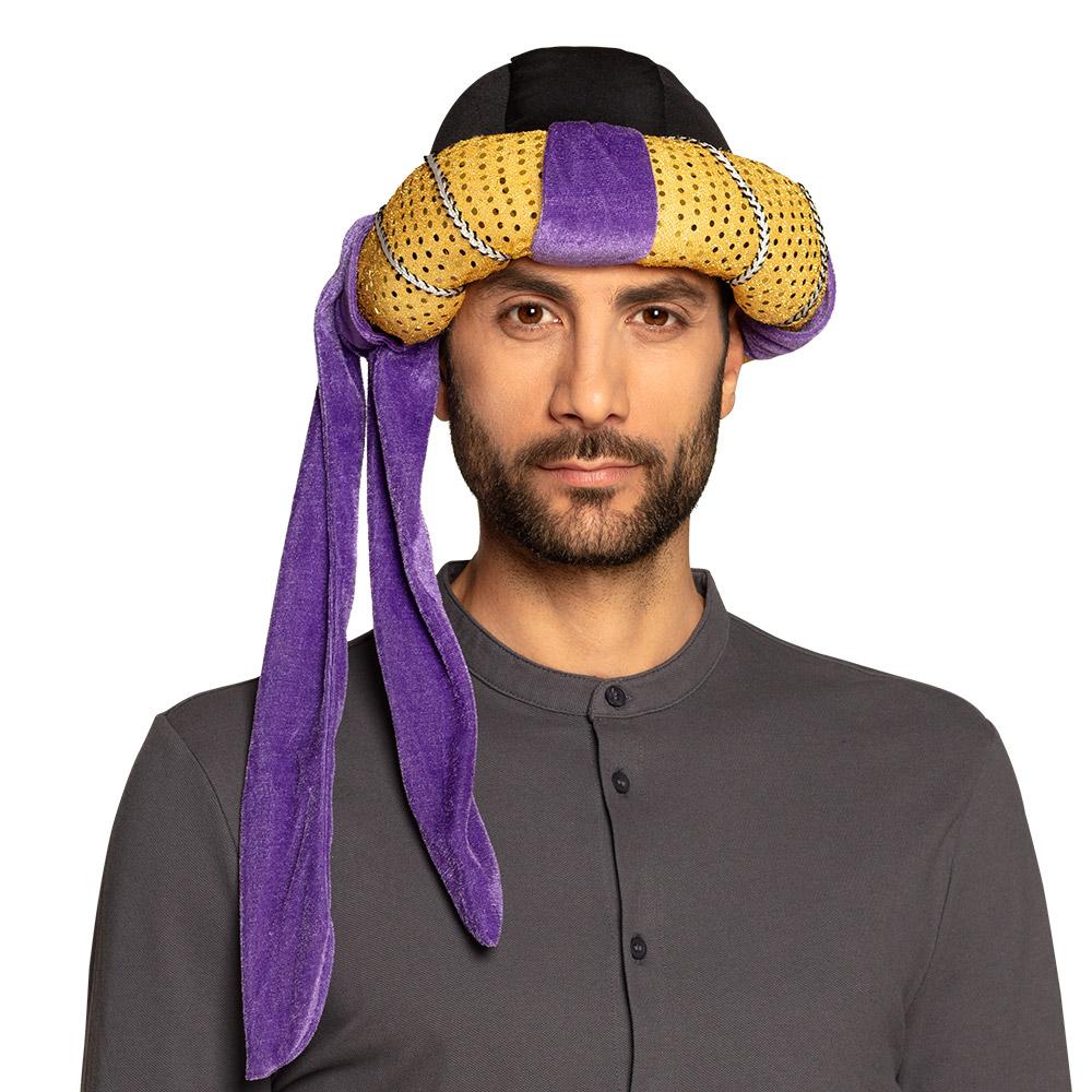 Sultan Hoed Goud/Paars