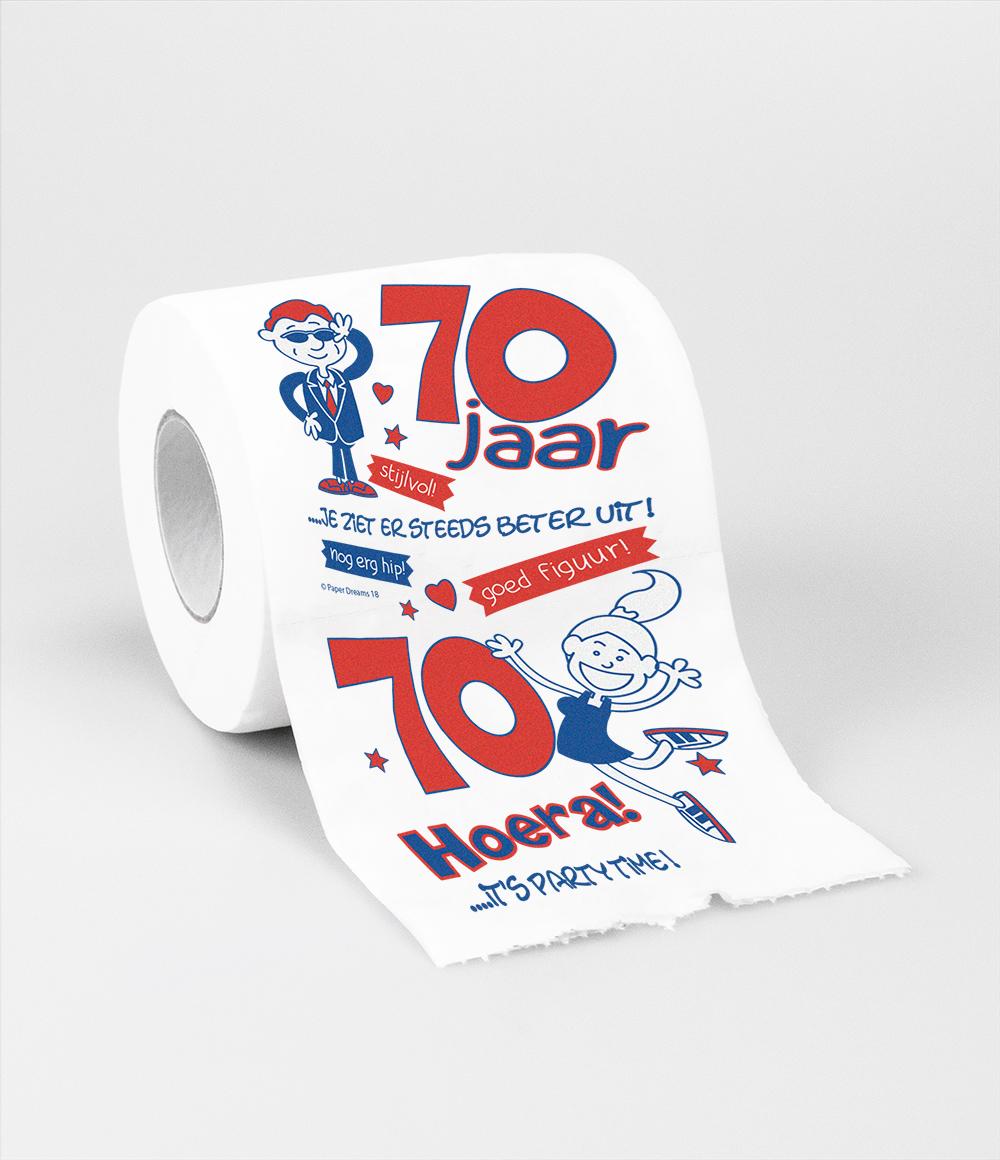 Toiletpapier 70 jaar