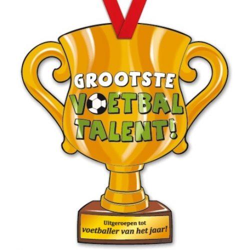 Trophy met Lint 32-Voetbal talent