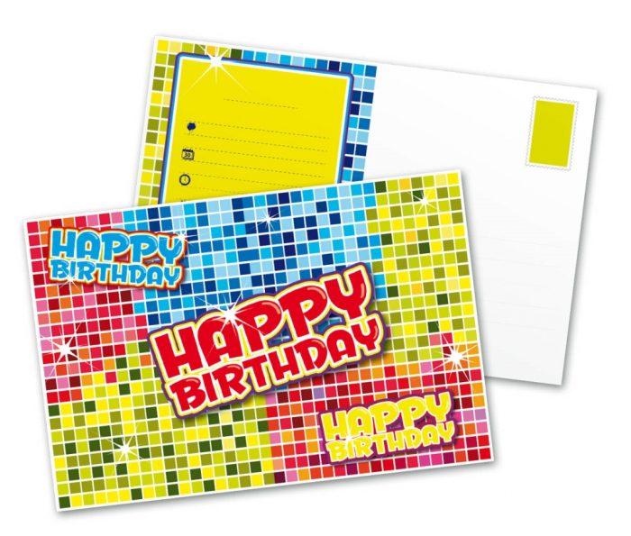 6st Uitnodigingen Happy Birthday