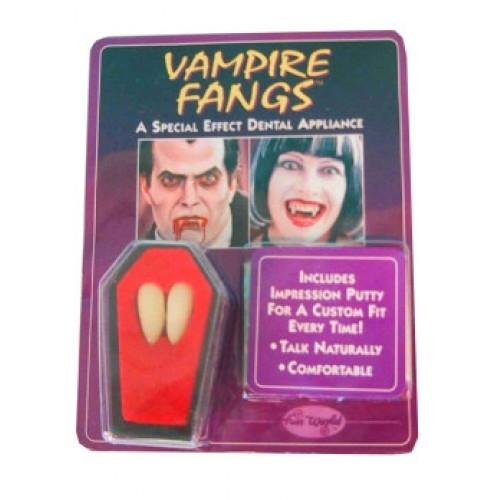 Vampier/Dracula Tanden in Kistje