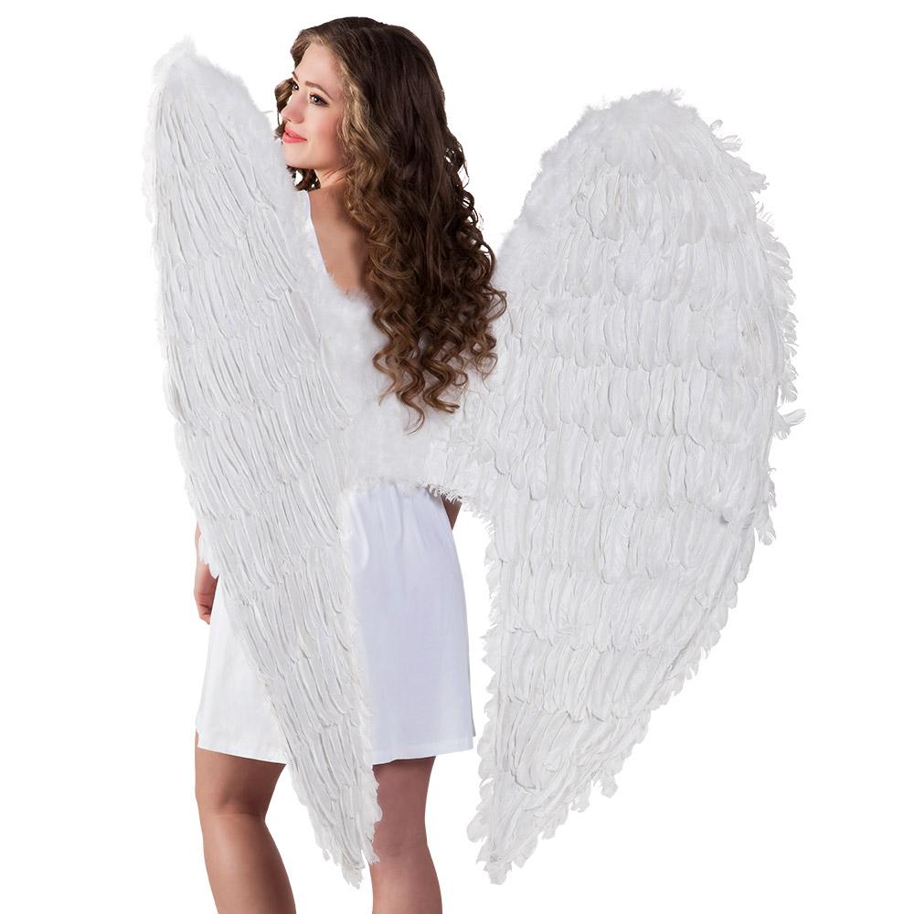 Verenvleugels Engel Wit 120x120cm