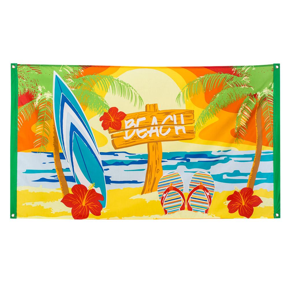 Vlag 'Beach' 90x150cm