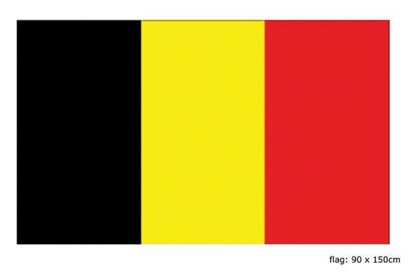 Vlag België 90x150cm