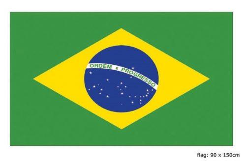 Vlag Brazilie 90x150cm