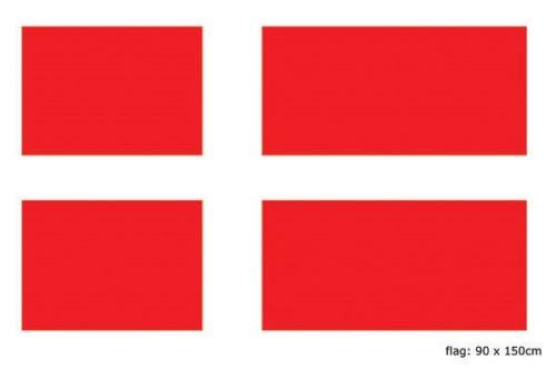 Vlag Denemarken 90x150cm