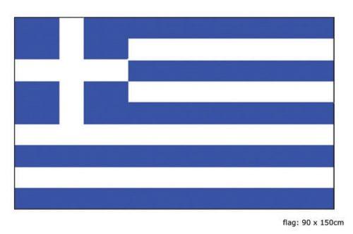 Vlag Griekenland 90x150cm