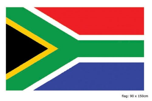 Vlag Zuid Afrika 90x150cm