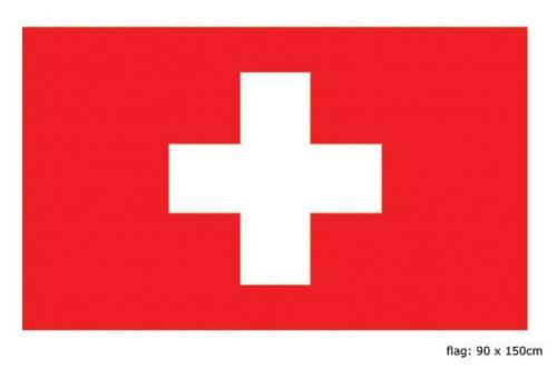 Vlag Zwitserland 90x150cm
