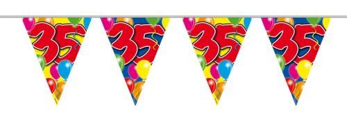 10m Vlaggenlijn Ballon 35 jaar