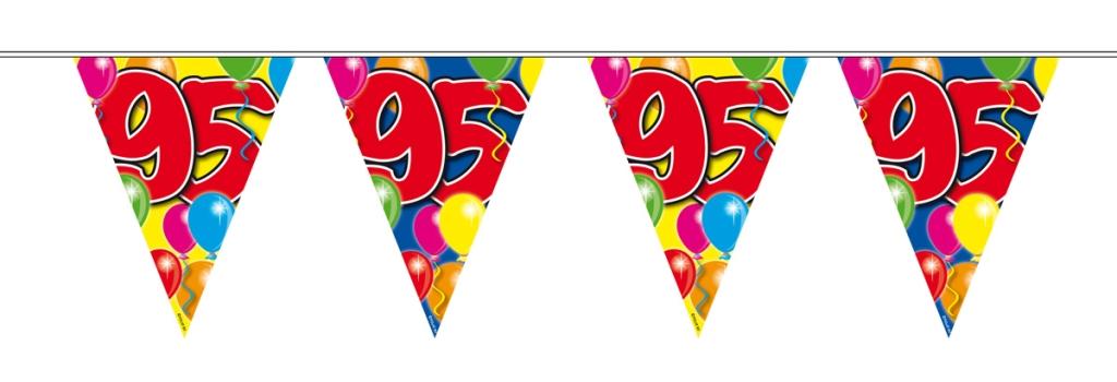10m Vlaggenlijn Ballon 95 jaar