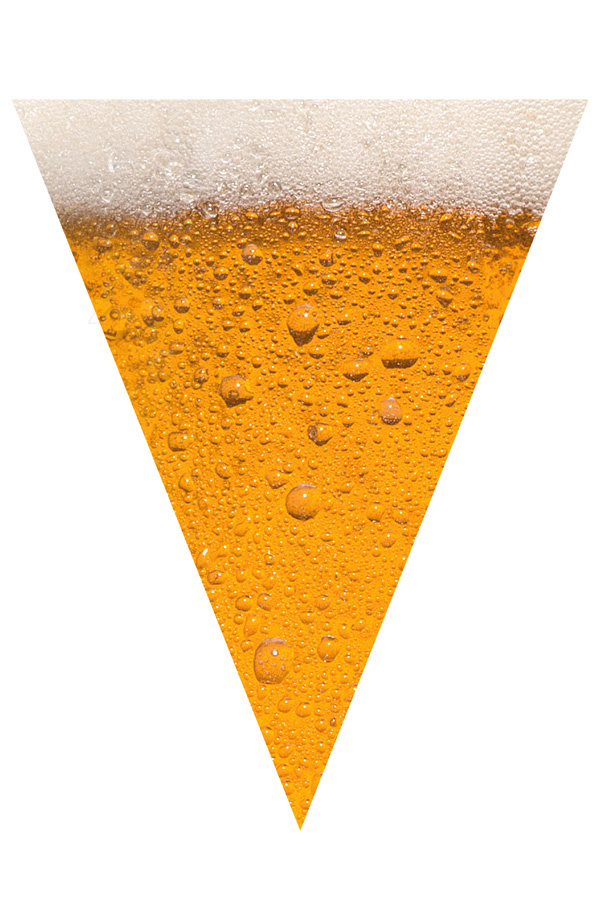 Vlaggenlijn Bier 6meter 15vlaggen