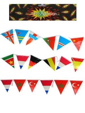 10m Vlaggenlijn Internationaal