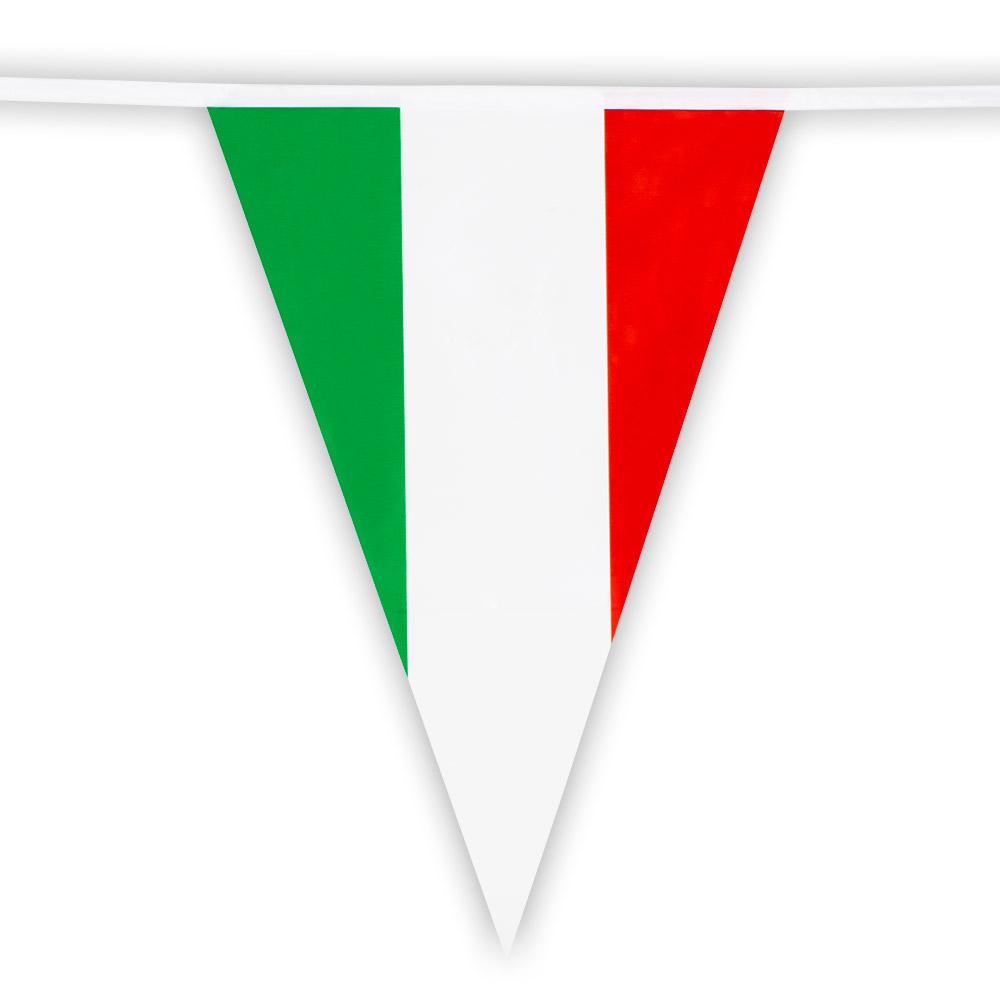 Vlaggenlijn Italië 10m