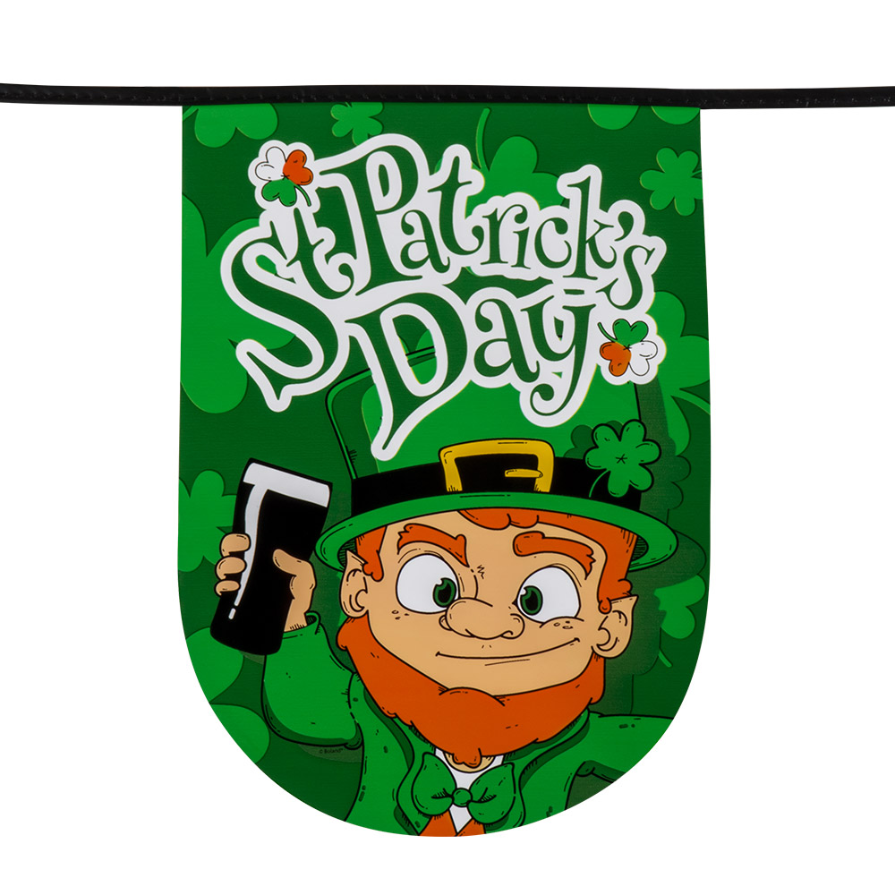 6m Vlaggenlijn St.Patrick's Day