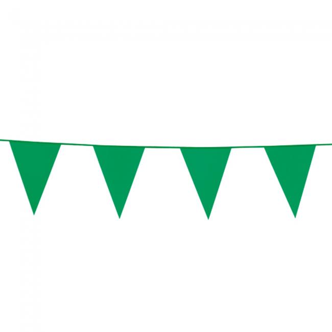 10m Vlaggenlijn Uni Groen