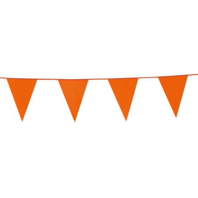 10m Vlaggenlijn Uni Oranje