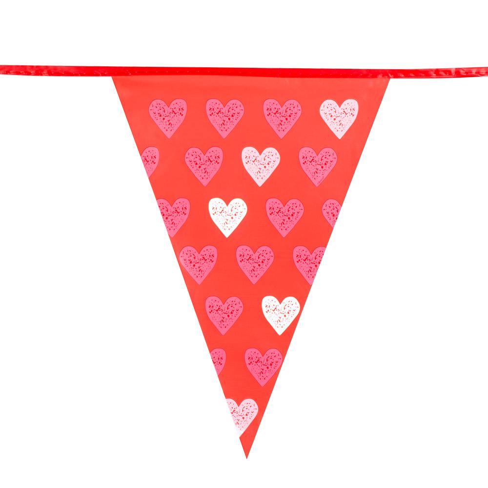 Vlaggenlijn XL Love 6meter