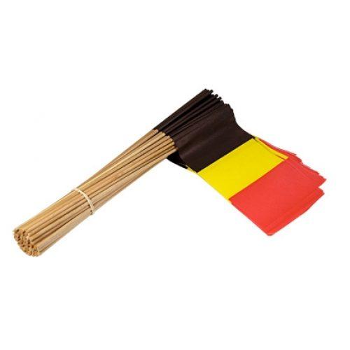Vlaggetje Papier Belgie