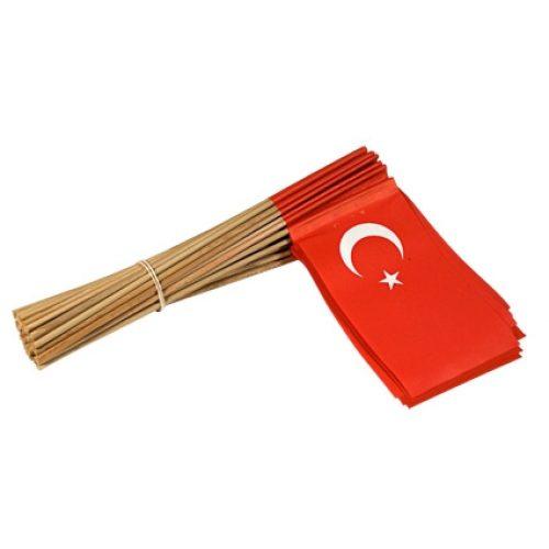 Vlaggetje Papier Turkije