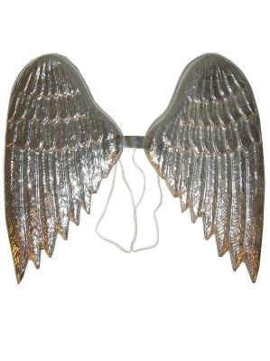 Vleugels Engel Plastic Zilver