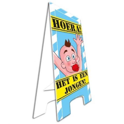 Warning Sign Geboorte Jongen