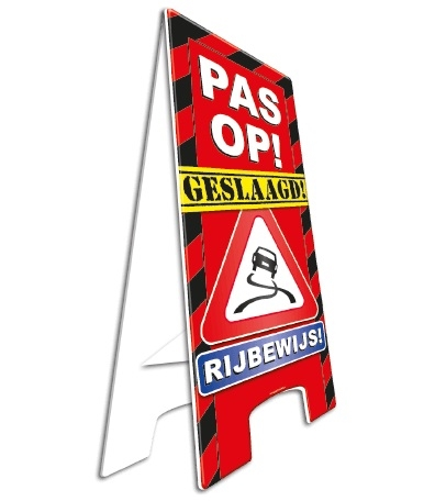 Warning Sign Rijbewijs