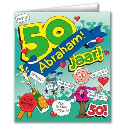 Wenskaart 26-Cartoon Abraham