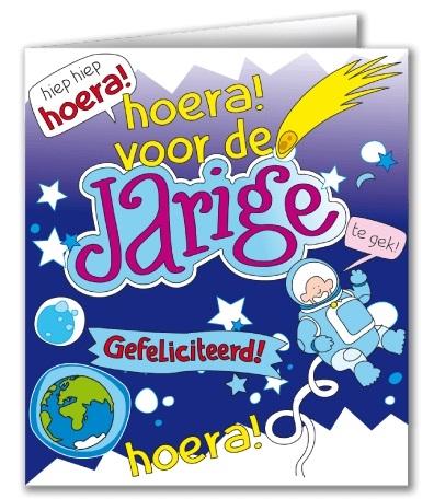Wenskaart 30-Cartoon Jarige