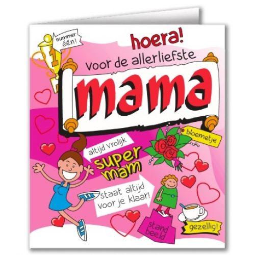 Wenskaart 33-Cartoon Mama