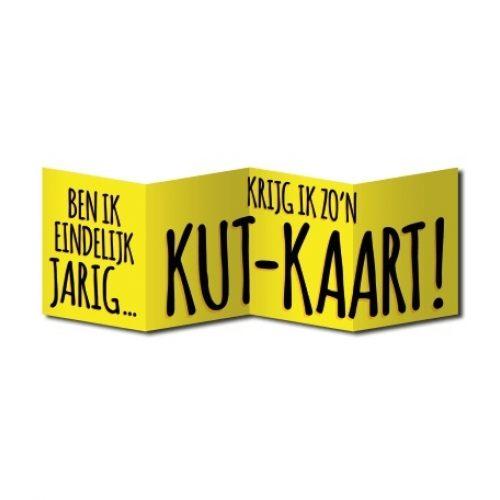 Wenskaart Surprise Jarig Kut Kaart