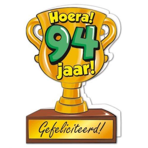 Wenskaart 94-Trofee 94 jaar