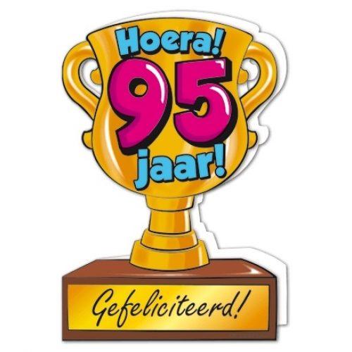 Wenskaart 95-Trofee 95 jaar