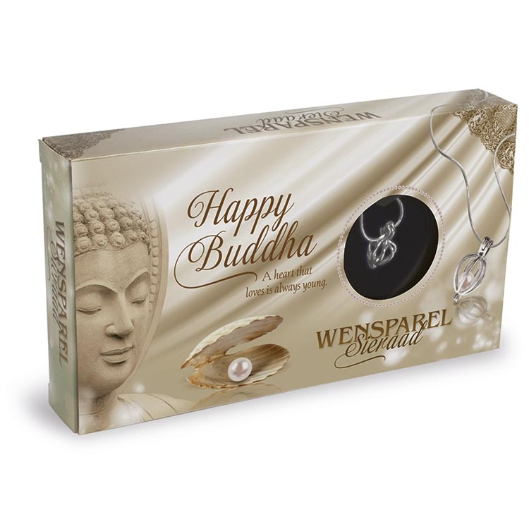 Wensparel Sieraad Happy Buddha